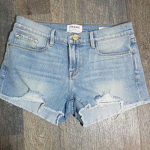 Frame denim Jean shorts